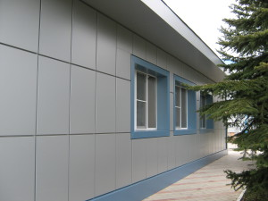 вентилируемый фасад композитные панели