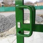 ручка скоба алюминиевой двери