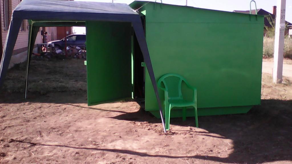 шатер на земельном участке
