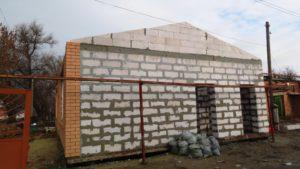 стены из газоблока